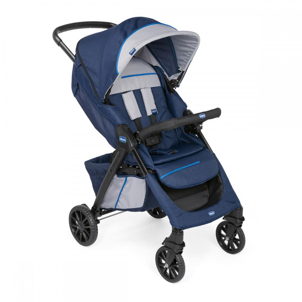Carucior sport Chicco Kwik.One BluePrint 0luni+