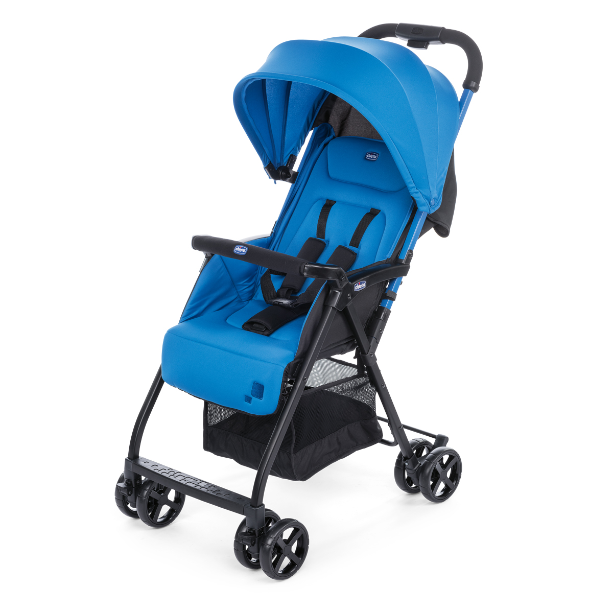 Carucior Sport Chicco Ohlala, Power Blue, 0luni+