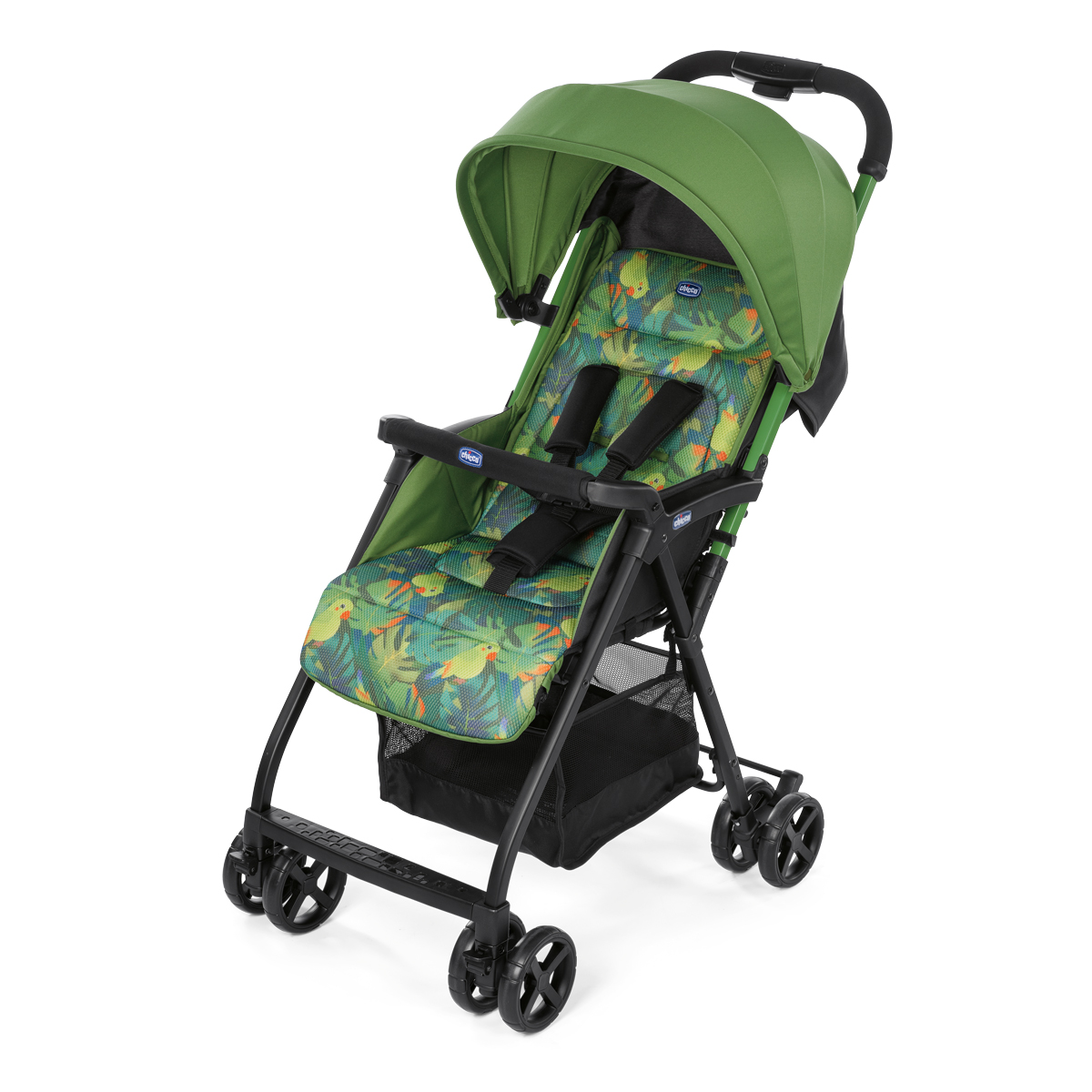 Carucior sport Chicco Ohlala, Tropical Jungle, Special Edition, 0luni+