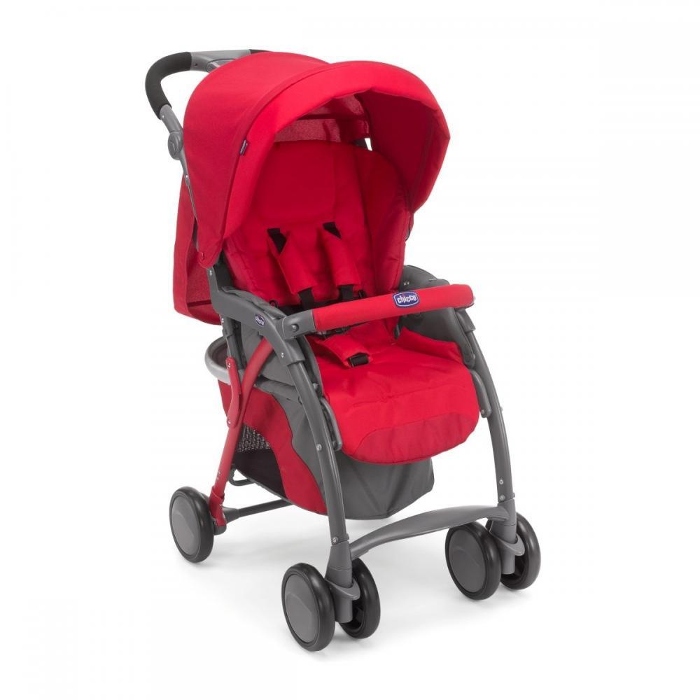 Carucior Sport Chicco Simplicity Plus, Red, 0luni+