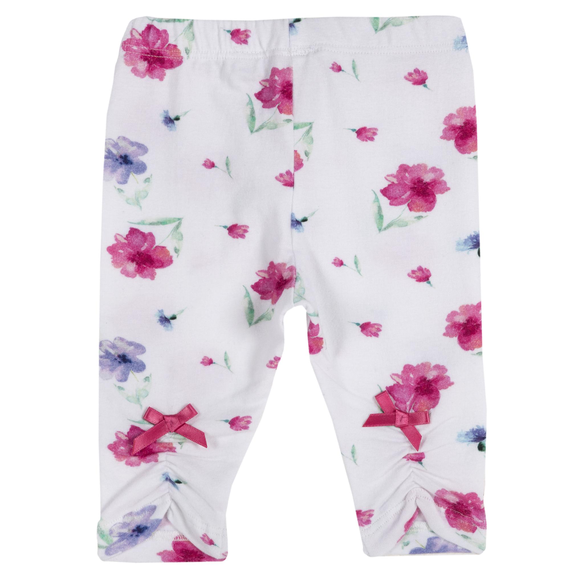 Colanti legings pentru fetite, Chicco, imprimeu floral, 25829 din categoria Colanti, Dresuri