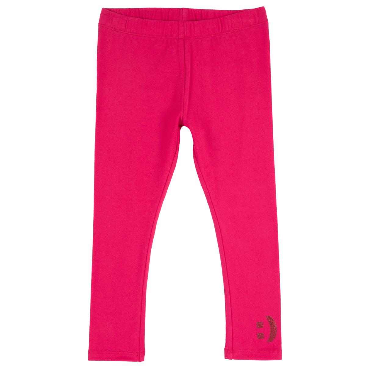 Pantalon lung copii, colant, roz, 25845