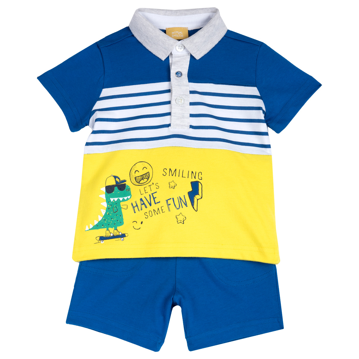 Costumas Tricou Polo M.s. Si Pant. Scurti 92