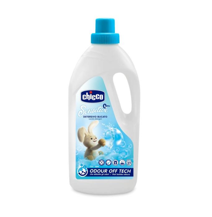 Detergent Lichid Hipoalergenic Chicco Pentru Haine, 1.5litri, 0luni+ imagine