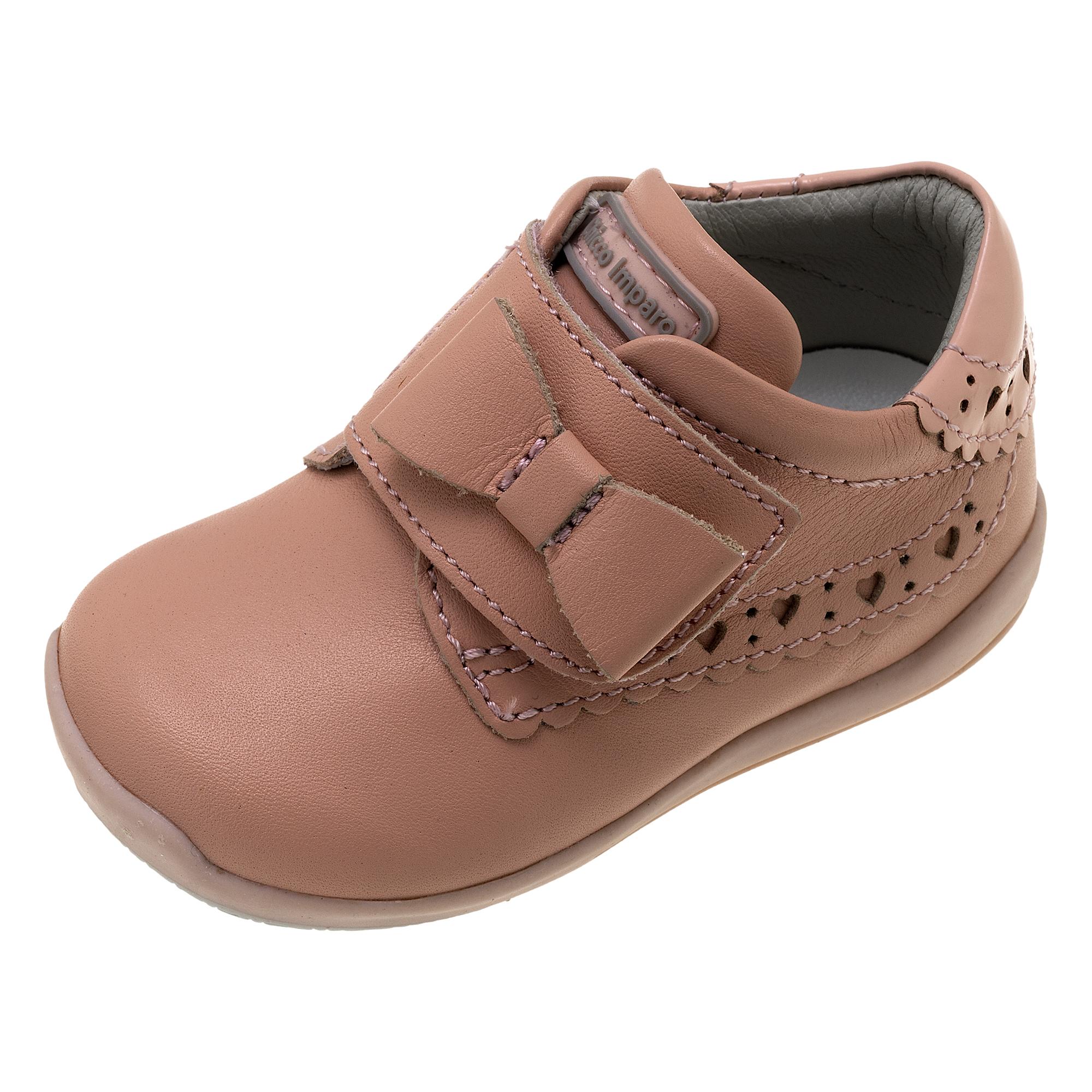 Ghete copii Chicco, roz, fundita decorativa, 62534 din categoria Ghete copii si bebelusi