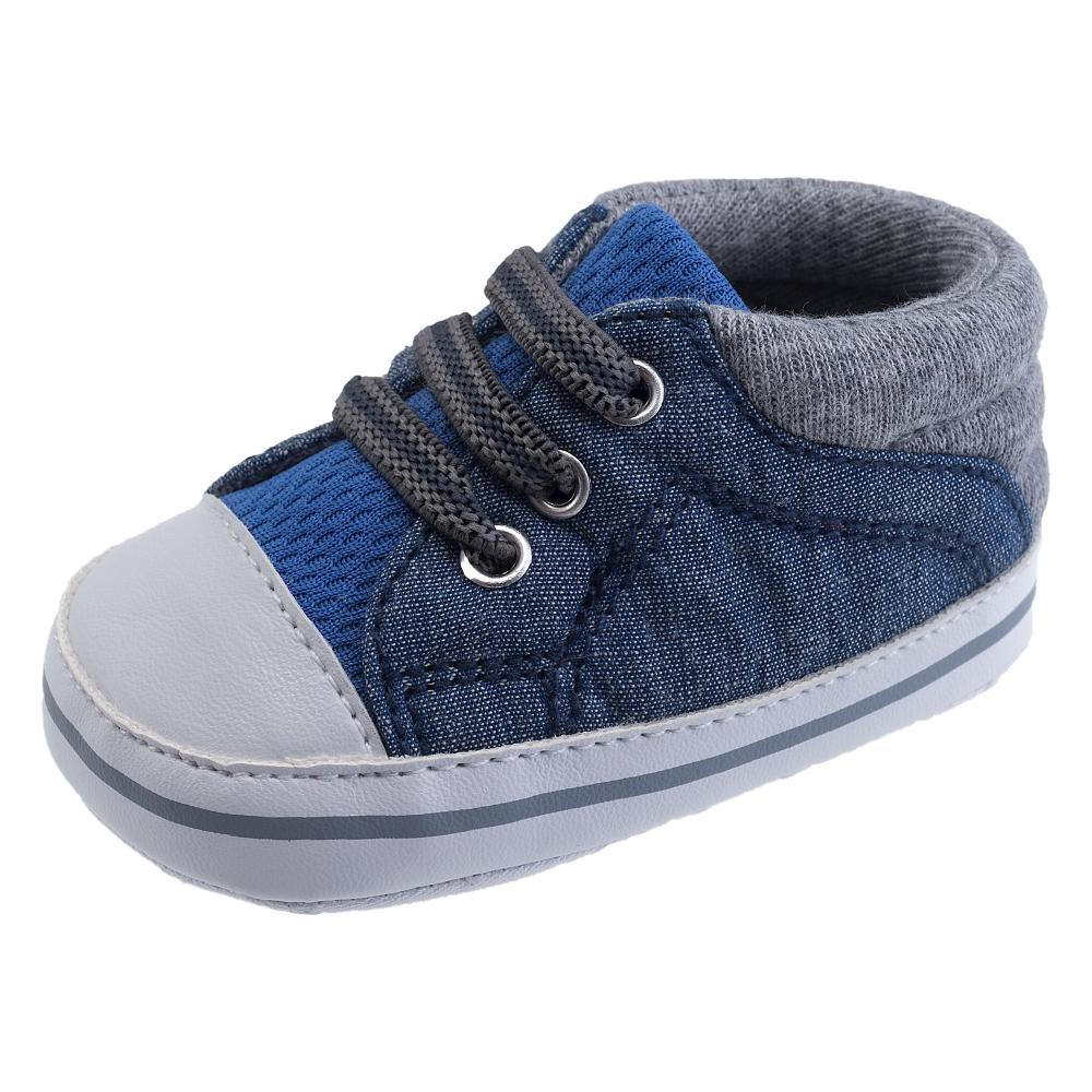 Pantofi sport copii Chicco, albastru cu gri, Nursery