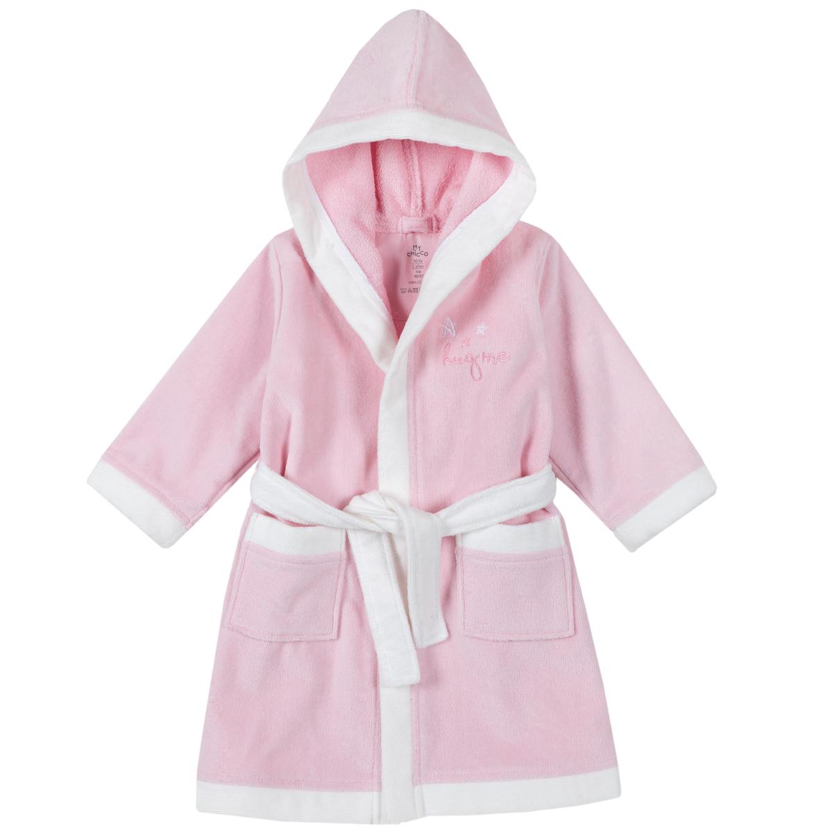 Halat de baie Chicco, roz, 40931 din categoria Halate de baie copii