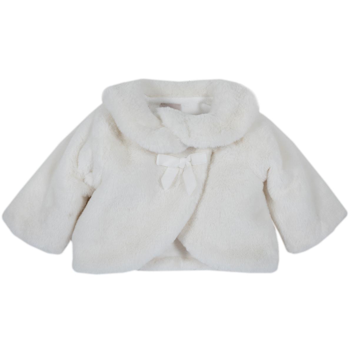 Jacheta copii Chicco, blanita artificiala, alb, 82383 din categoria Jachete copii