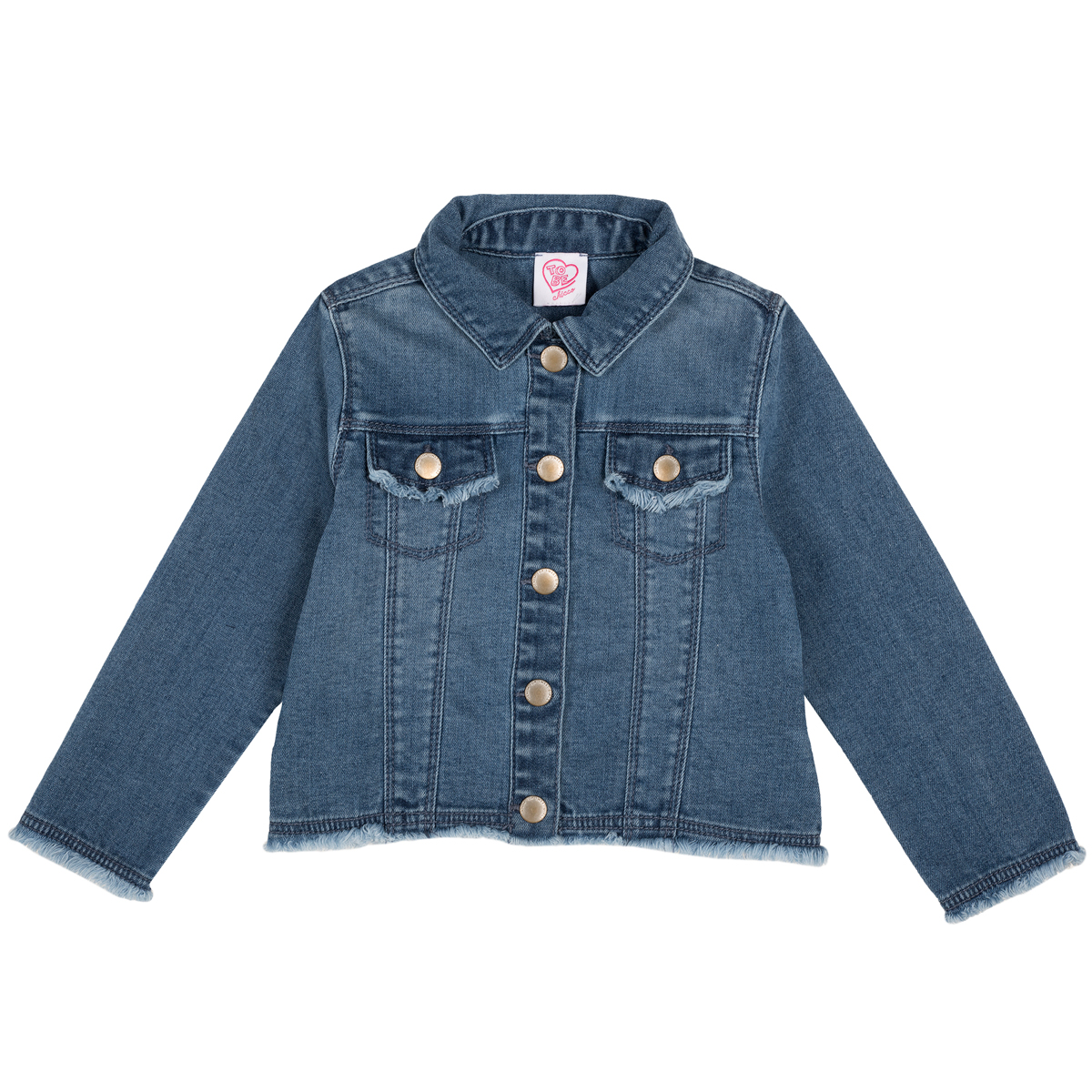 Jacheta copii Chicco, denim elastic, albastru, 87397 din categoria Jachete copii