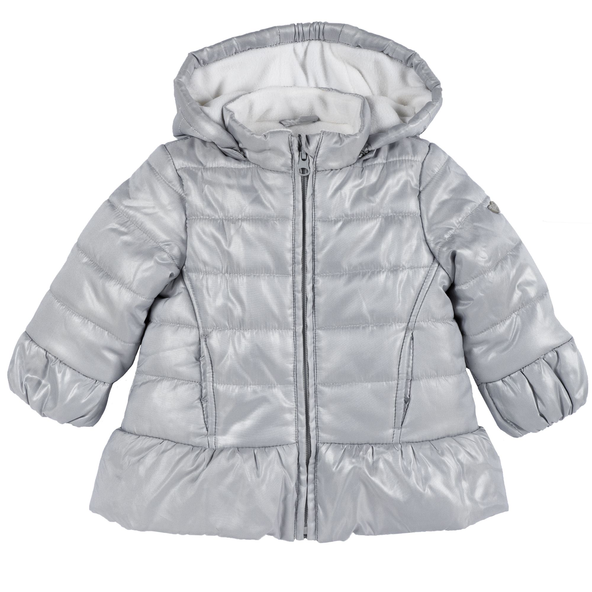 Jacheta copii Chicco, gri deschis