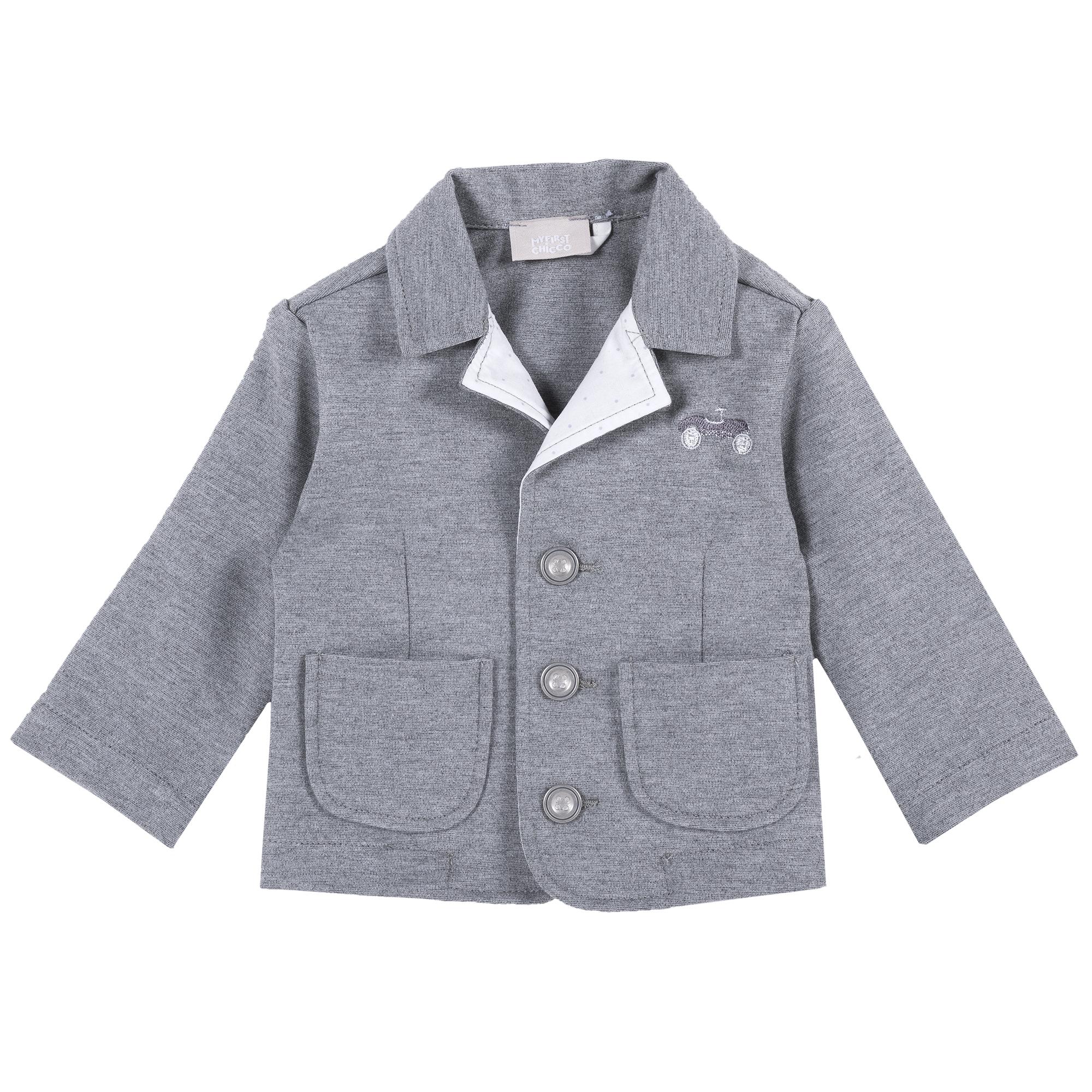 Jacheta copii Chicco, gri inchis