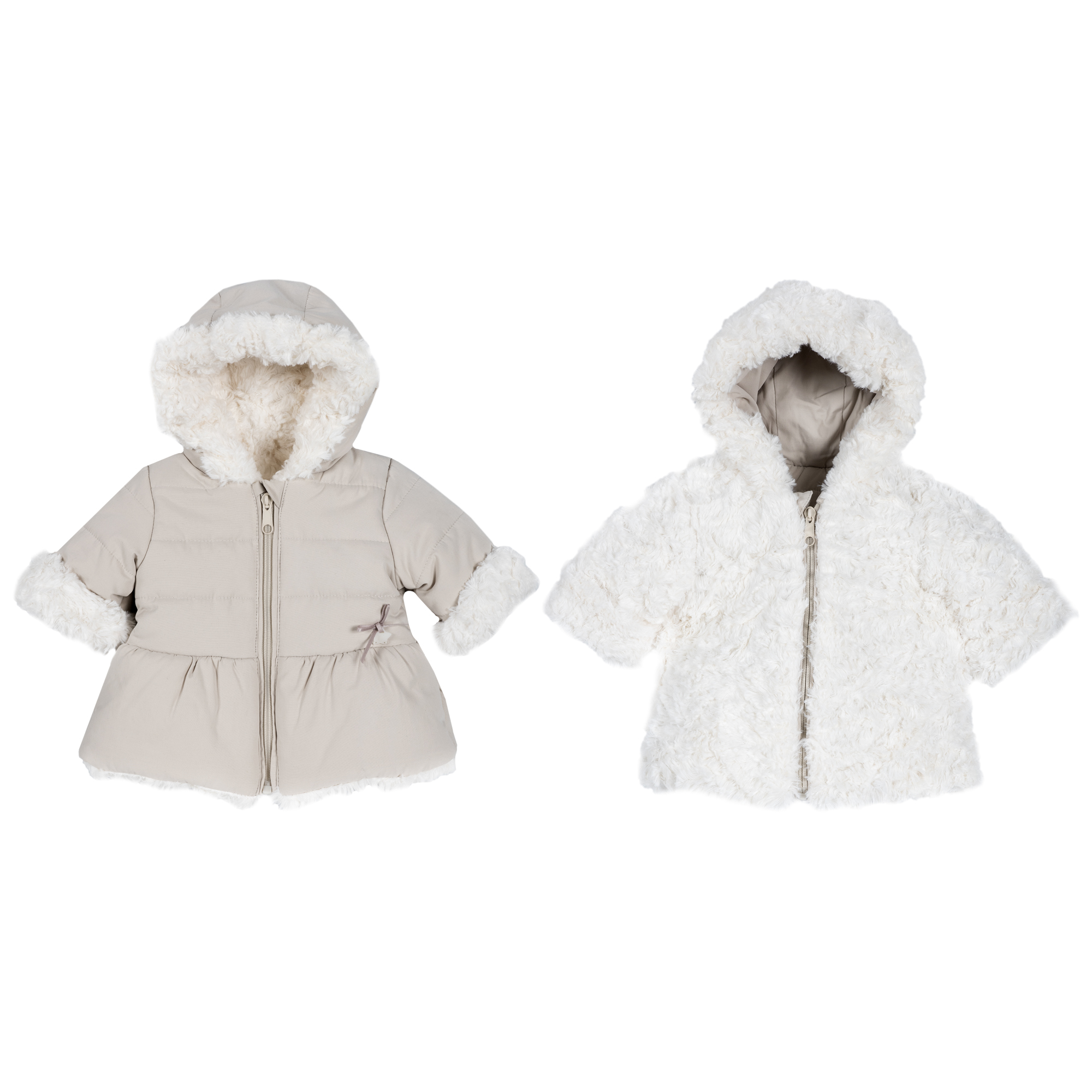 Jacheta copii Chicco reversibila bej 68