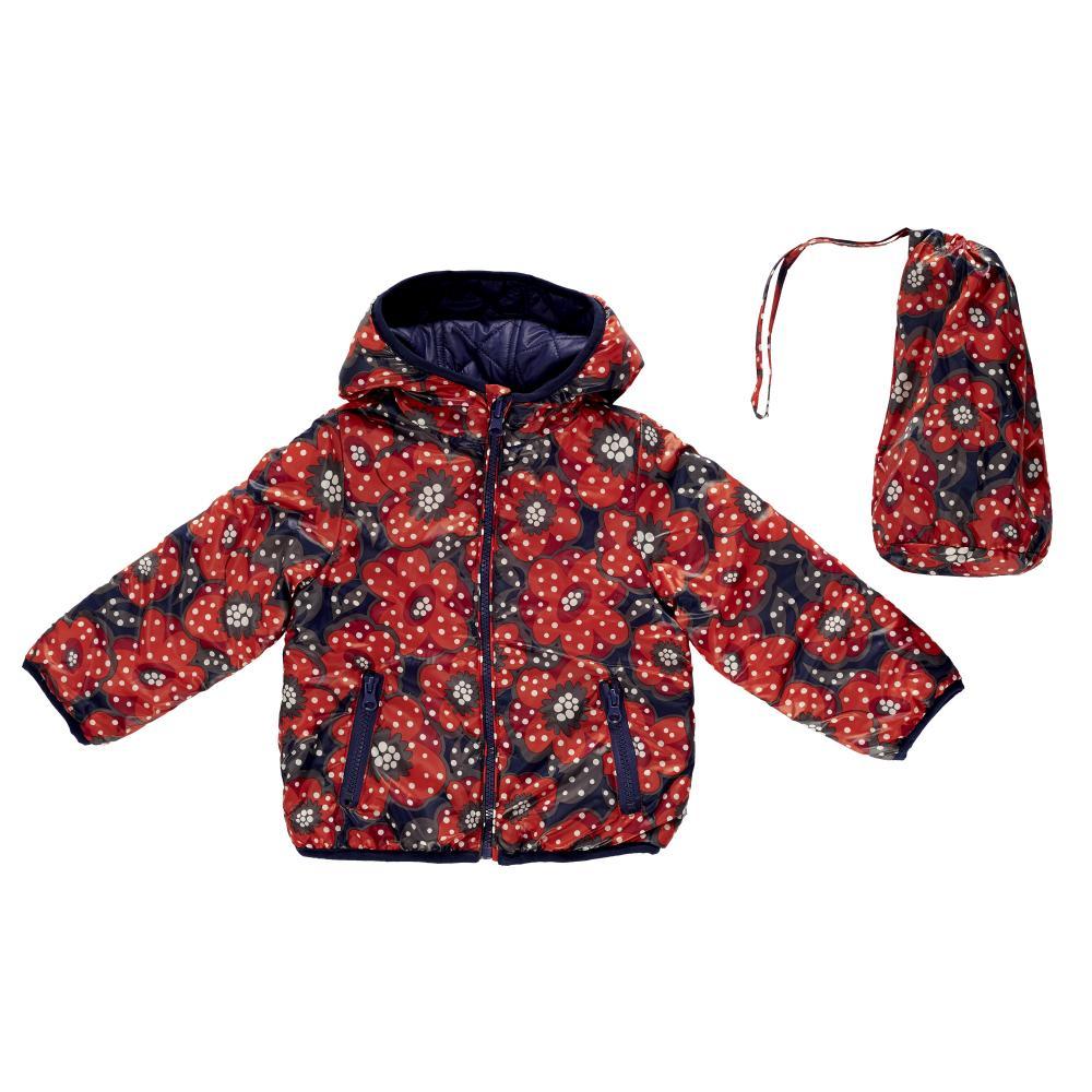 Jacheta Copii Chicco Reversibila Bleumarin Cu Trandafiri 122