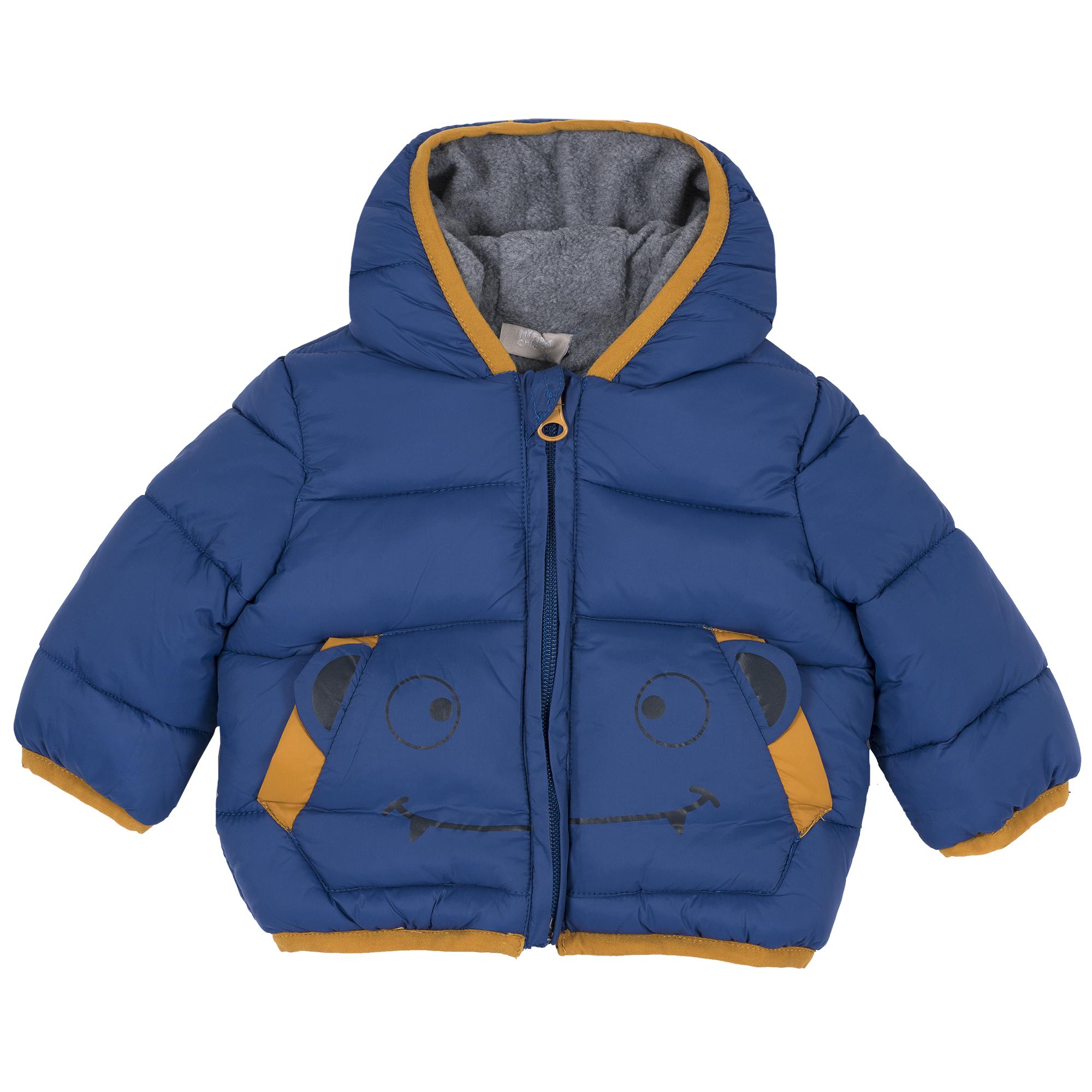 Jacheta Copii Chicco Ecodown, Albastru, 87437 imagine