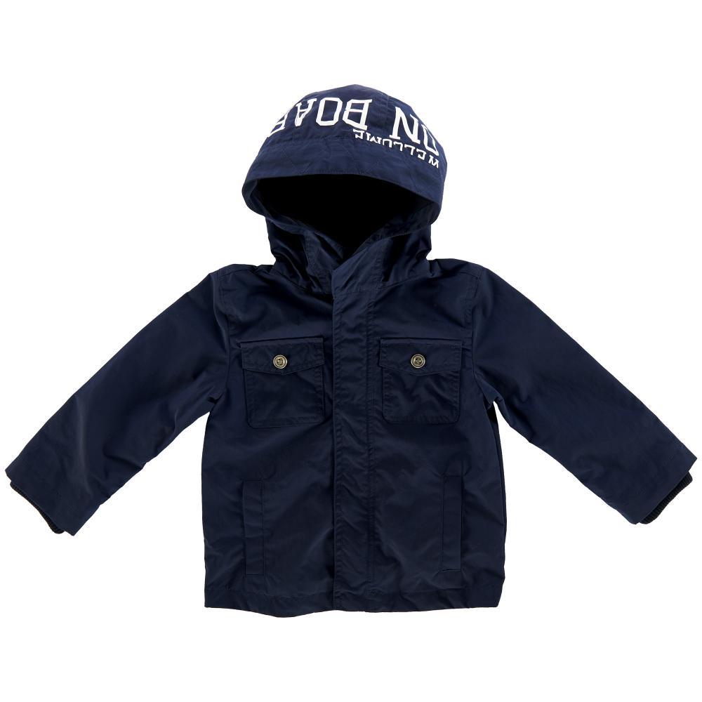 Jacheta impermeabila copii Chicco, baieti, bleumarin din categoria Jachete copii