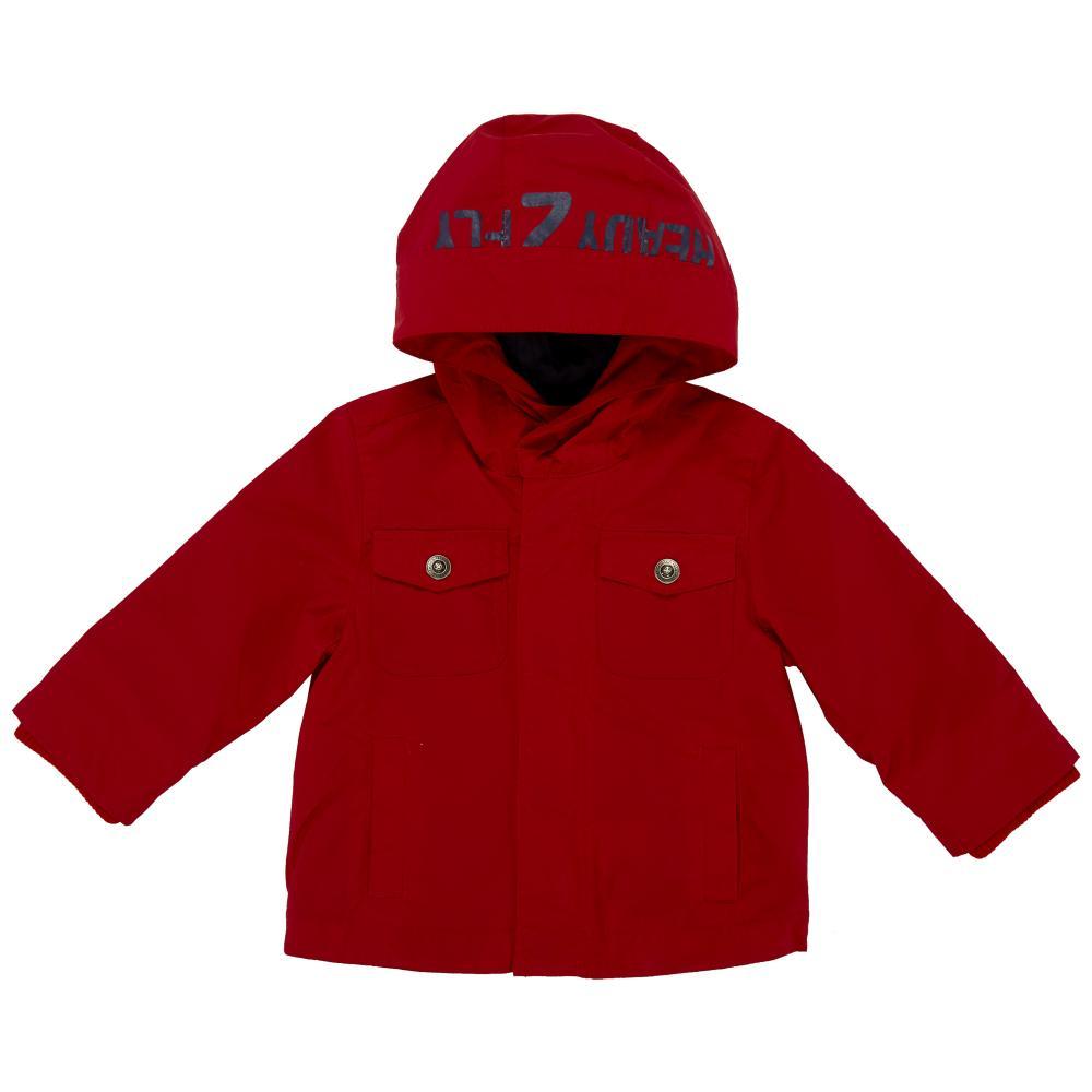 Jacheta impermeabila copii Chicco, baieti, rosu, 104 din categoria Jachete copii