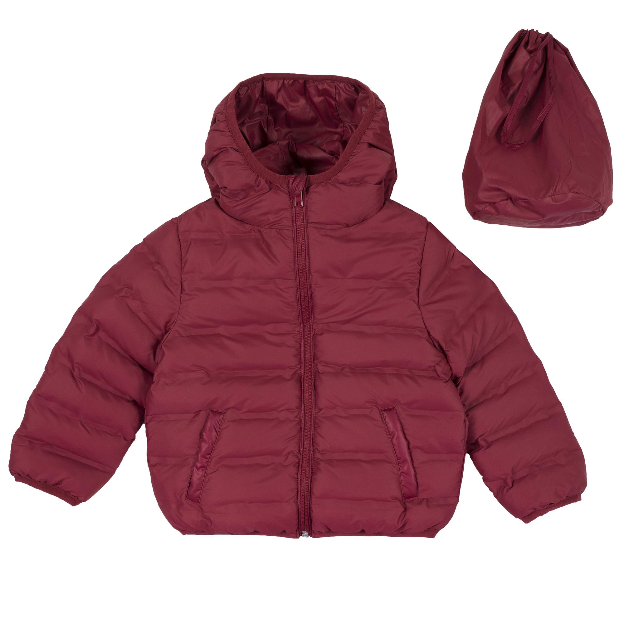 Jacheta copii Chicco, impermeabila si matlasata, visiniu, 87404