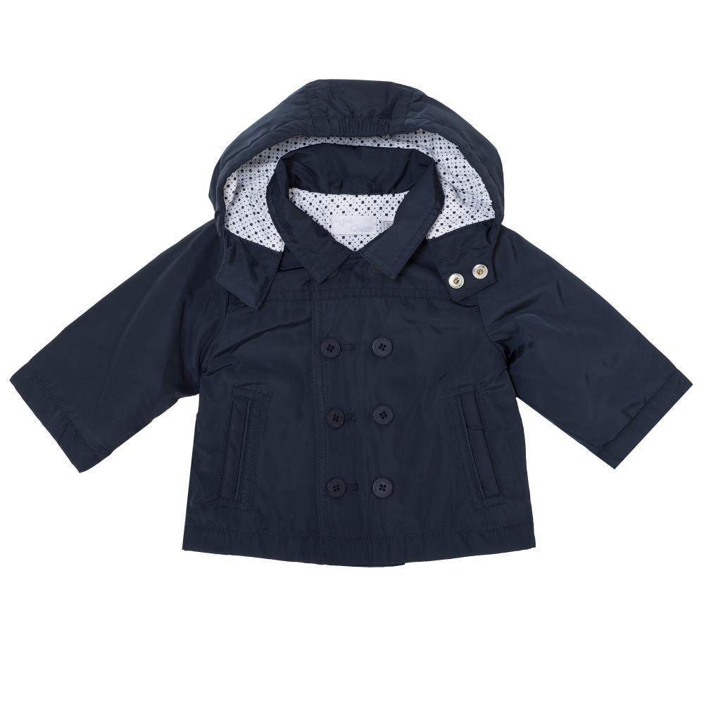 Jacheta pentru copii Chicco, baietei, bleumarin din categoria Jachete copii
