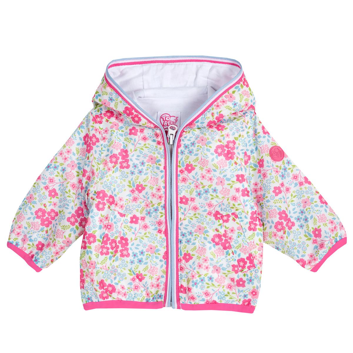 Jacheta copii Chicco, roz cu trandafir, 87379 din categoria Jachete copii