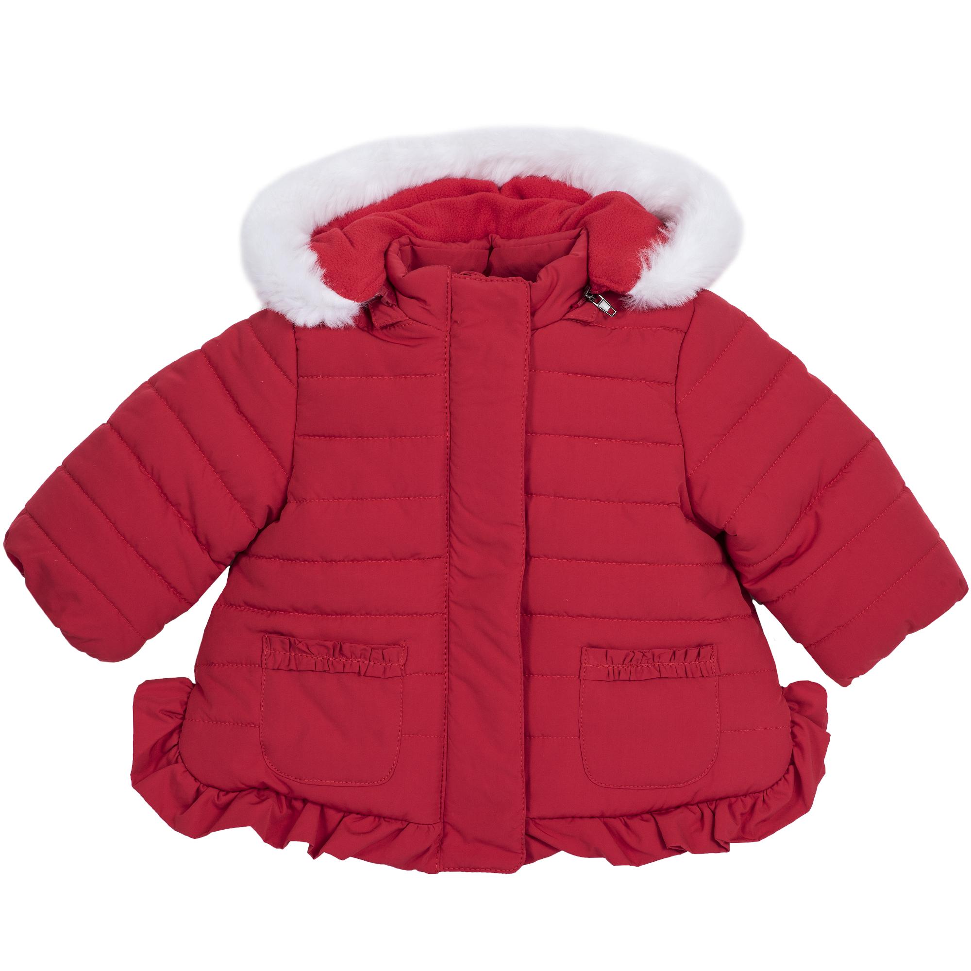 Jacheta copii Chicco THERMOSOFT, gluga detasabile, rosu, 87429