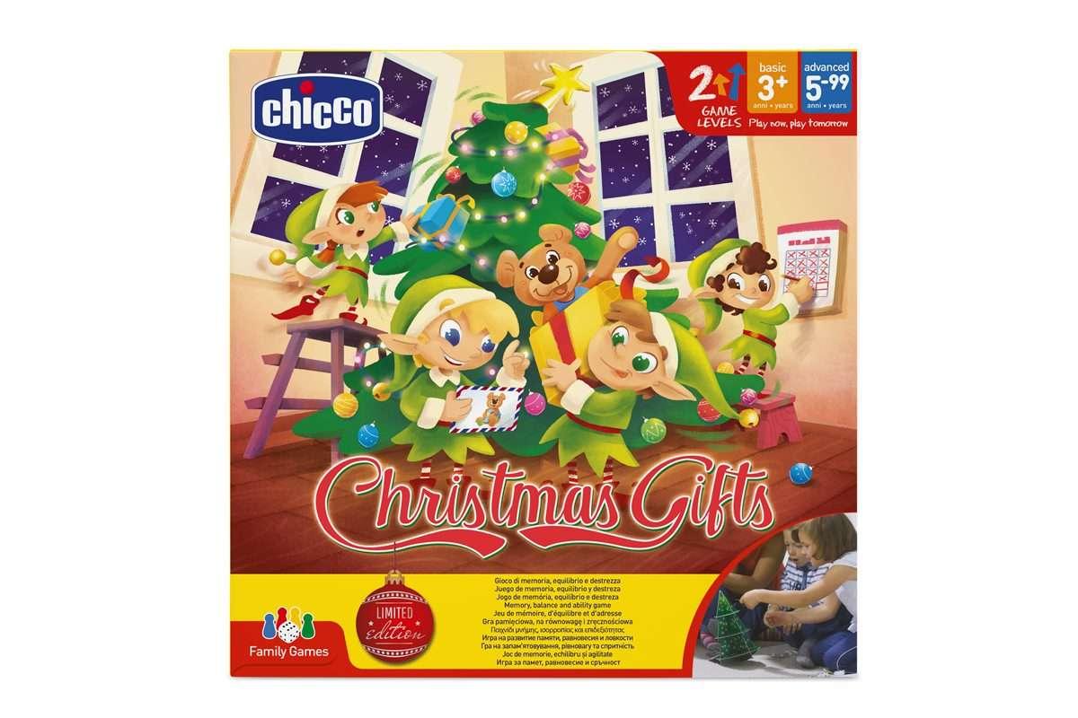 Joc de memorie Chicco Darurile Craciunului 3ani+