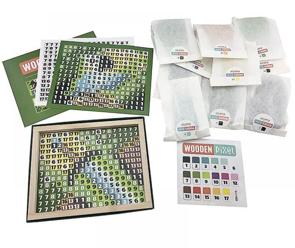 Joc Din Lemn Cubika, Mozaic Pixel Pirates imagine