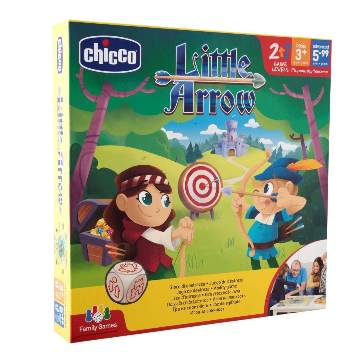 Joc pentru dexteritate si de abilitati Chicco Mica sageata 3ani+