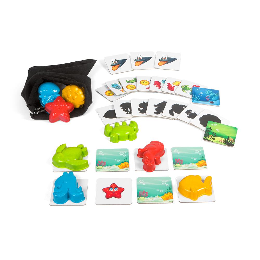 Jucarie Chicco joc de memorie tactila si vizuala Under the sea 2ani+ thumbnail