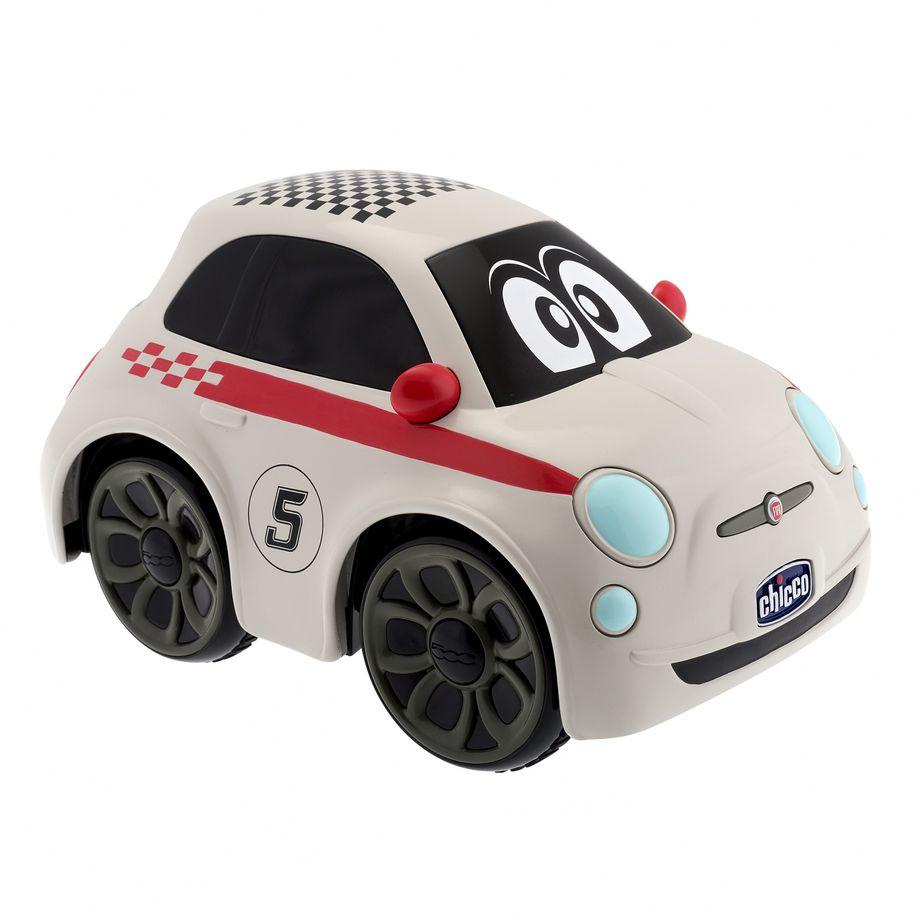 Jucarie Chicco Masinuta cu telecomanda Fiat 500 RC Sport 3-6 ani+