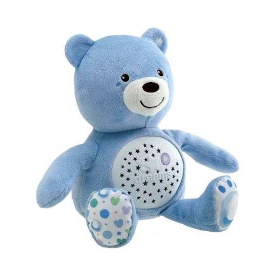Jucarie cu proiectie Chicco Ursuletul bebelus albastra 0luni+ thumbnail
