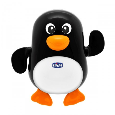 Jucarie De Baie Chicco Pinguinul Inotator, 6-36 Luni imagine