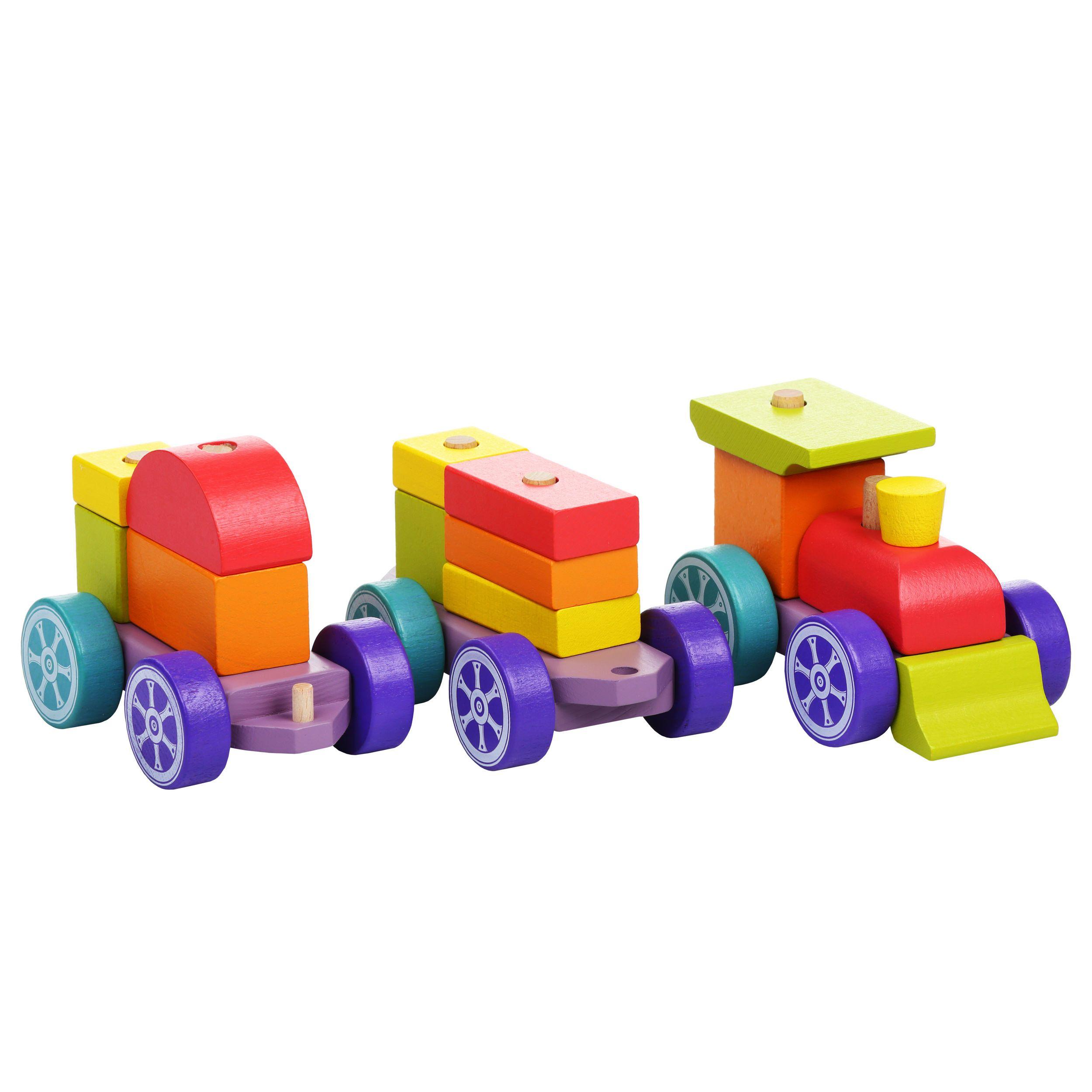 Jucarie Din Lemn Cubika, Trenulet imagine