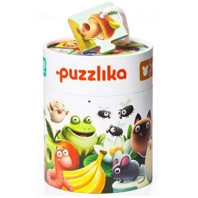 Jucarie puzzle Cubika Ce mananca 2ani+