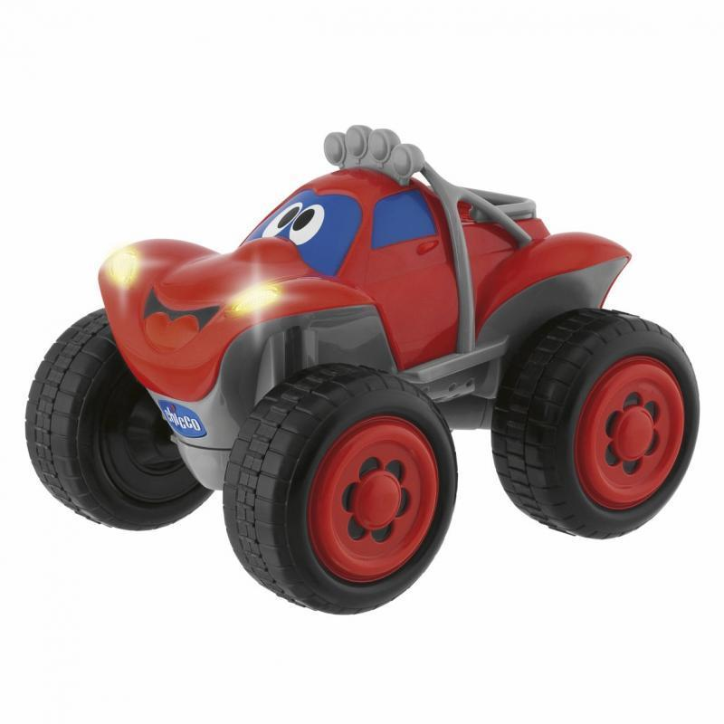 Jucarie Chicco Jeep Billy Big Wheels, rosie, 2+ani
