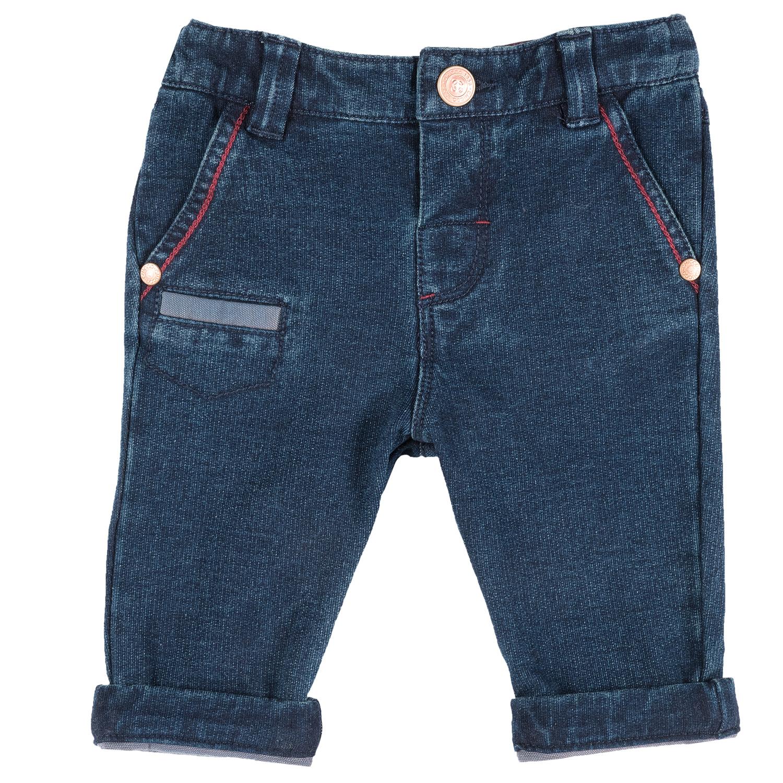 Pantalon copii Chicco albastru deschis 68
