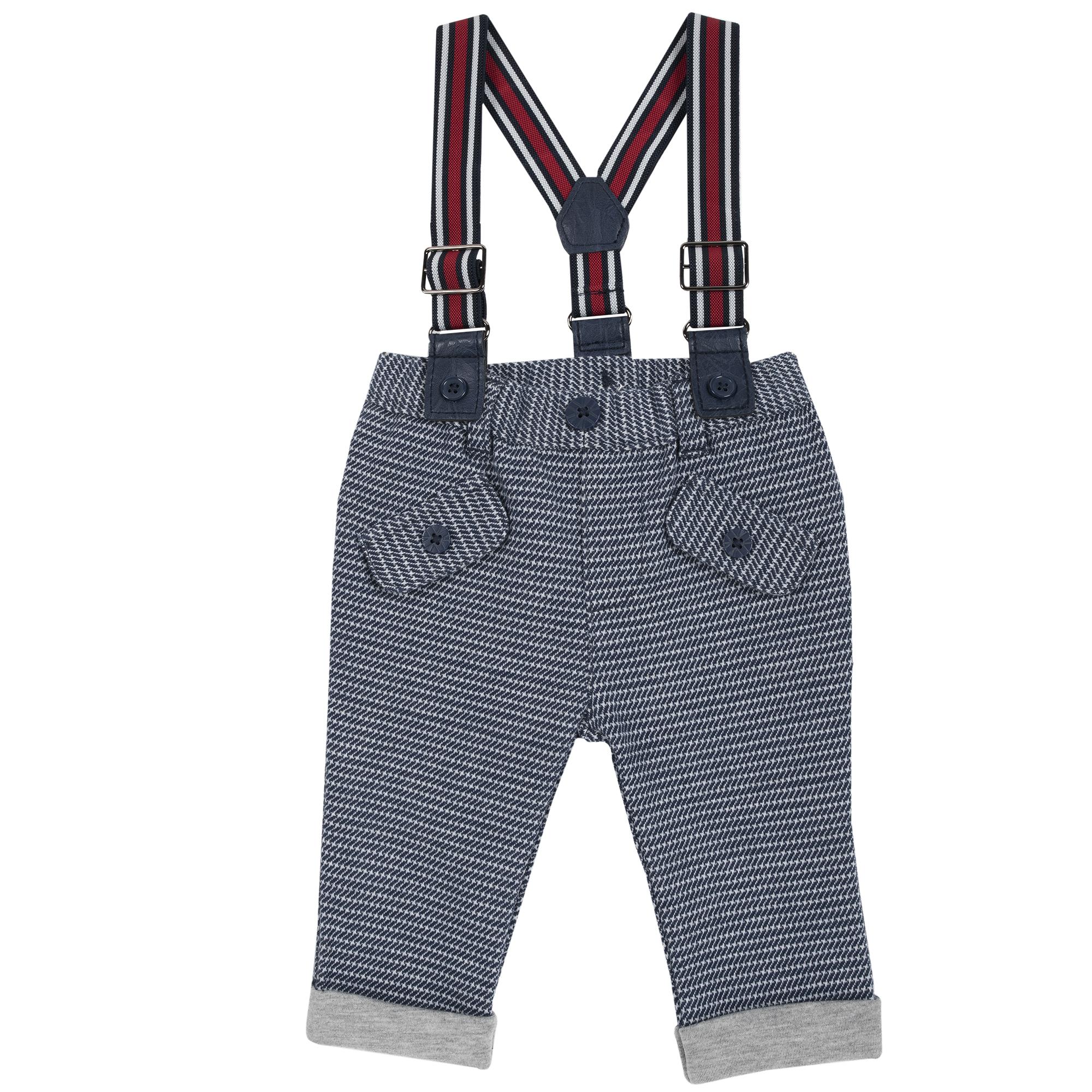 Pantalon copii Chicco albastru inchis 62