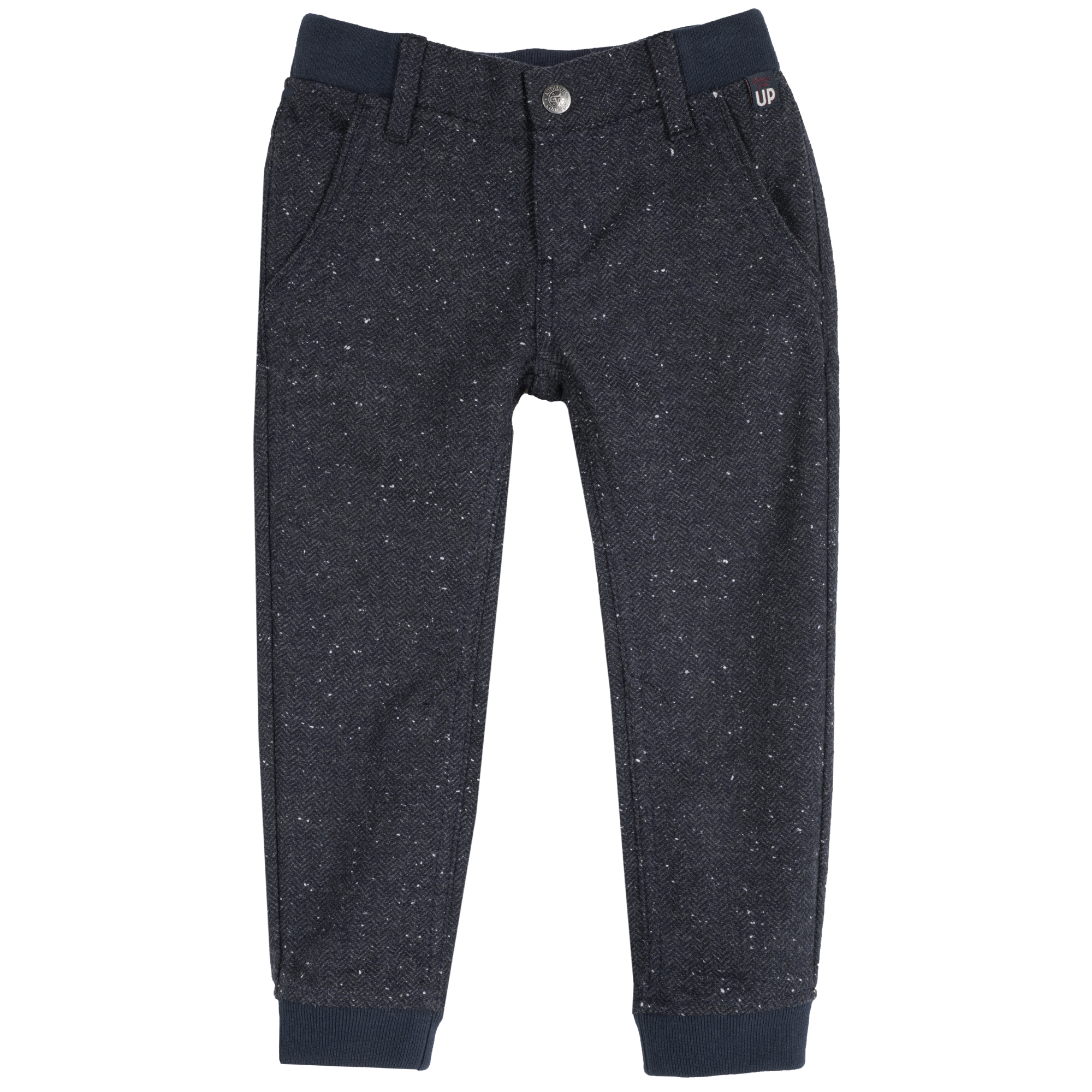 Pantalon copii Chicco, albastru inchis din categoria Pantaloni copii