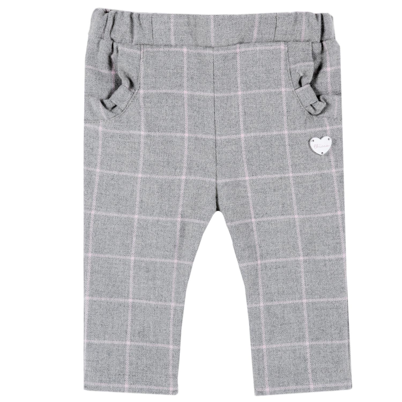 Pantalon copii Chicco, gri din categoria Pantaloni copii