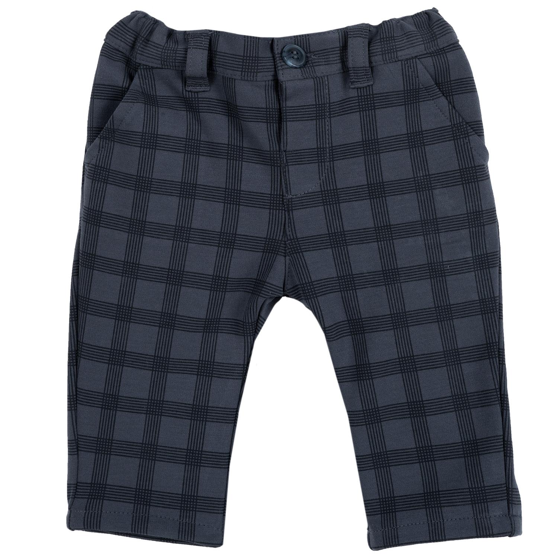 Pantalon copii Chicco, negru cu albastru