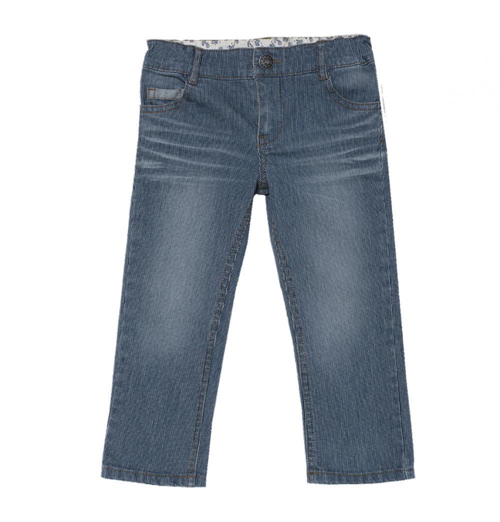 Pantalon Lung Baieti, Chicco, Albastru, 24490 imagine