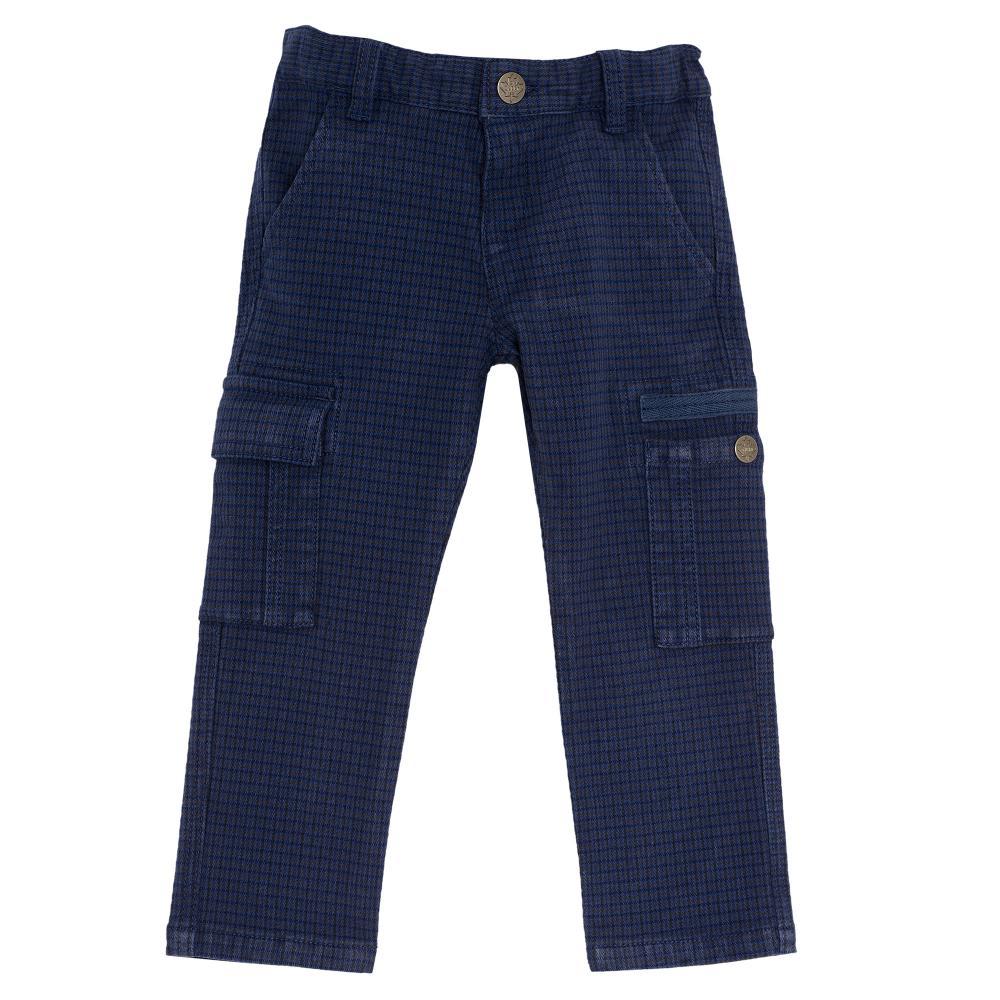 Pantalon lung, Chicco, albastru, 24418