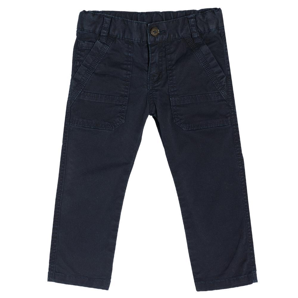 Chicco Pantalon lung Chicco albastru inchis 104