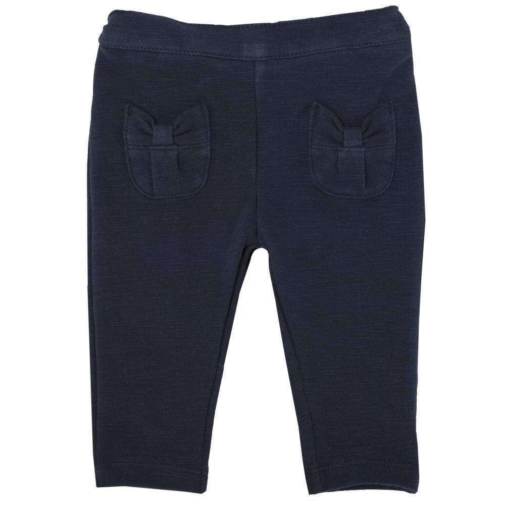 Pantalon lung Chicco, fete, bleumarin, 24478