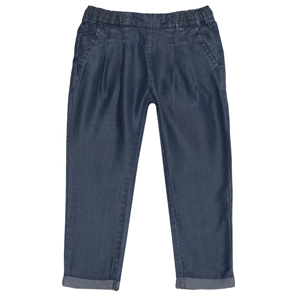Pantalon lung Chicco, fete, denim