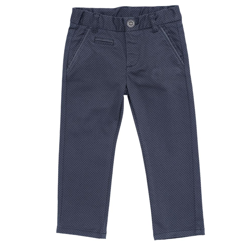 Pantalon lung Chicco, negru cu gri din categoria Pantaloni copii
