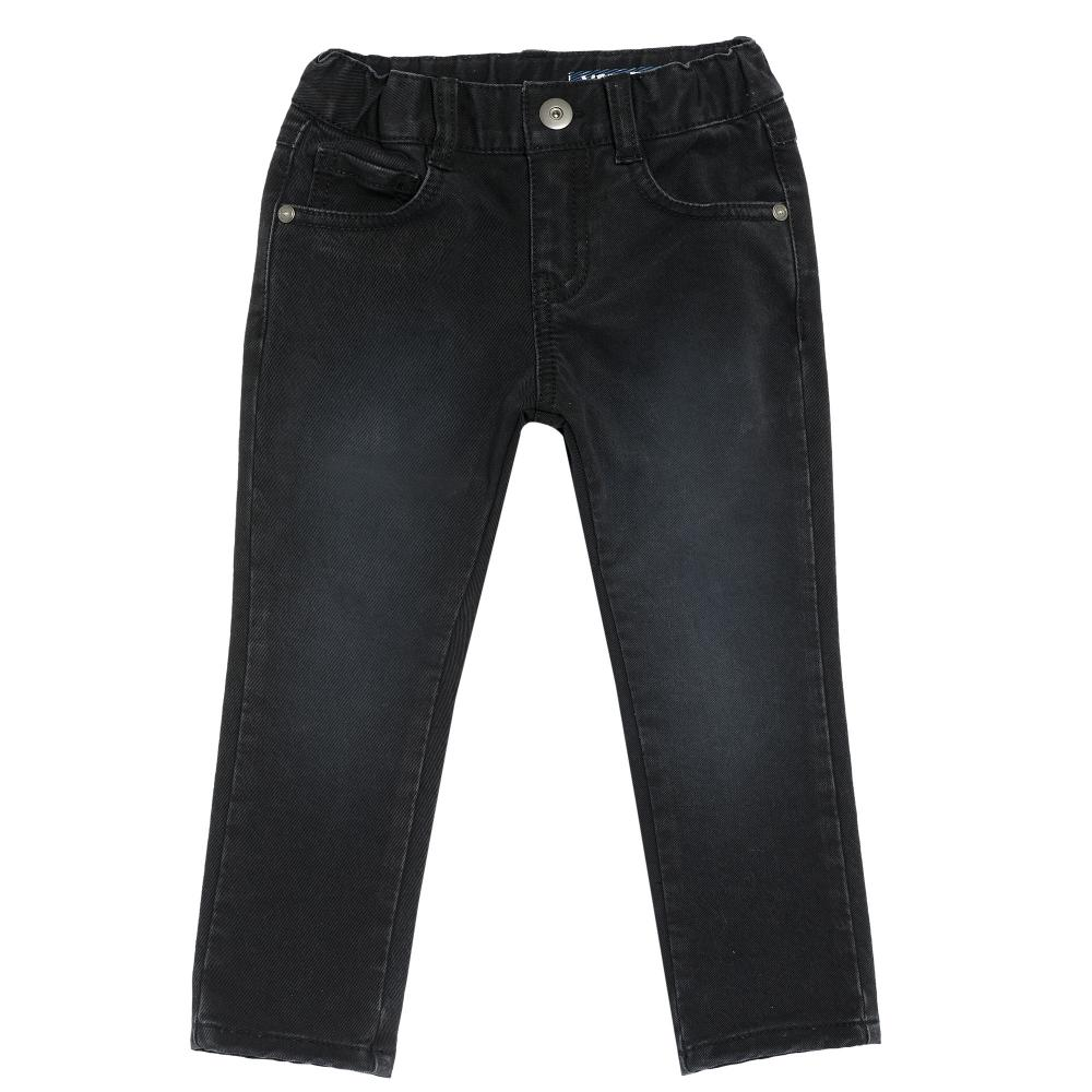 Chicco Pantalon lung Chicco negru denim stretch 98