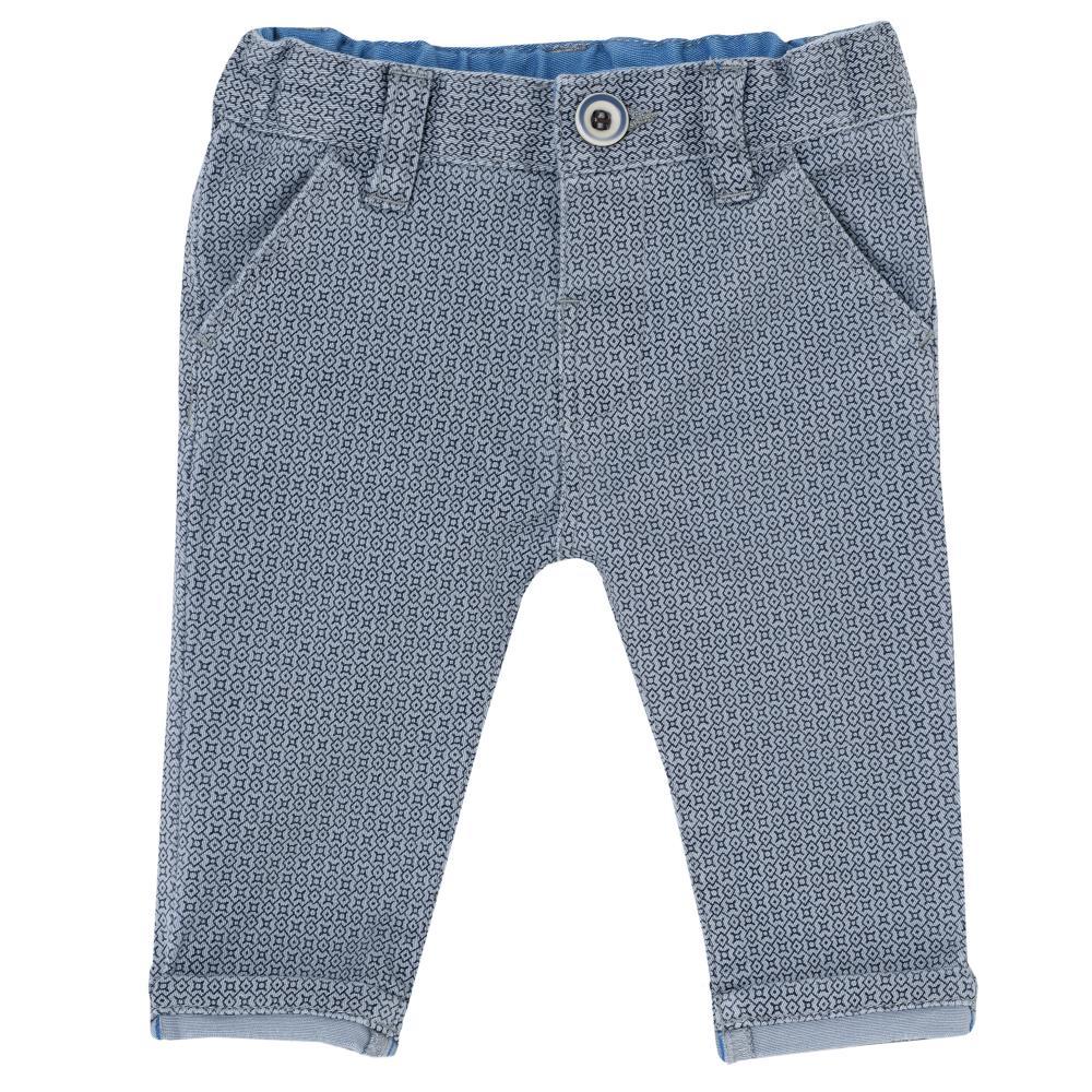 Pantalon lung Chicco pentru copii, bleu