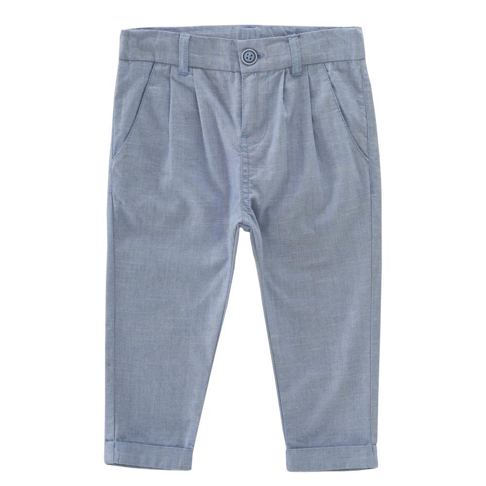 Pantalon lung copii Chicco, albastru din categoria Pantaloni copii