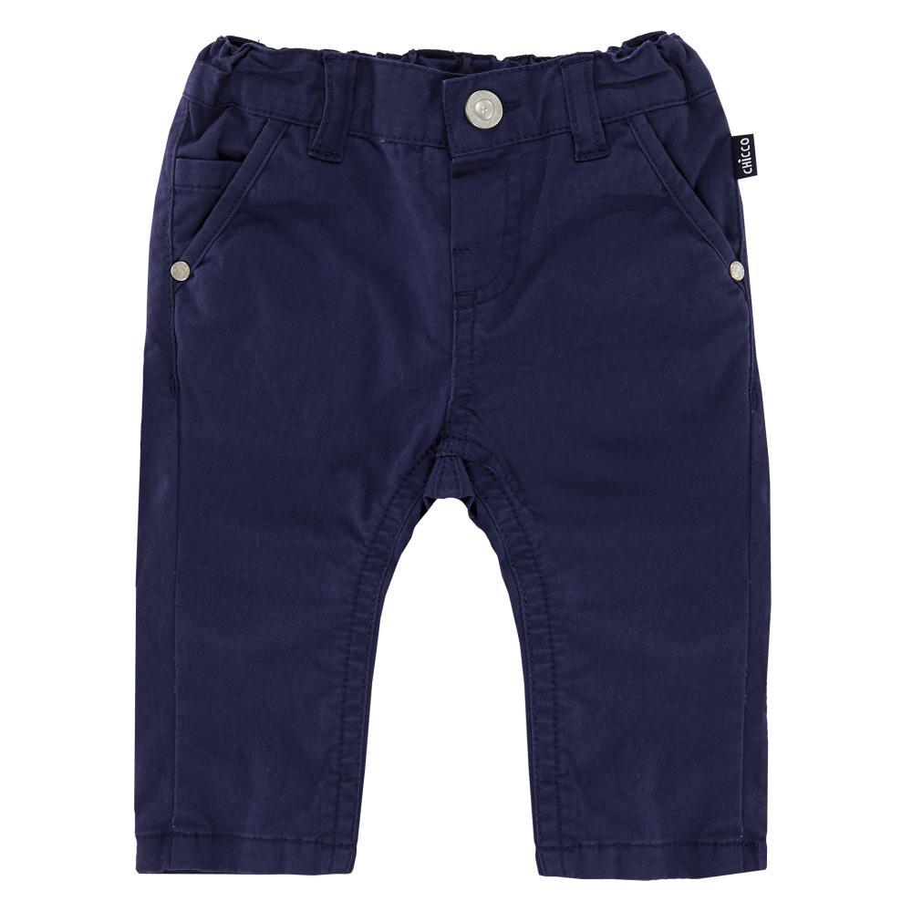 Pantalon Lung Copii Chicco, Baieti, Bleumarin