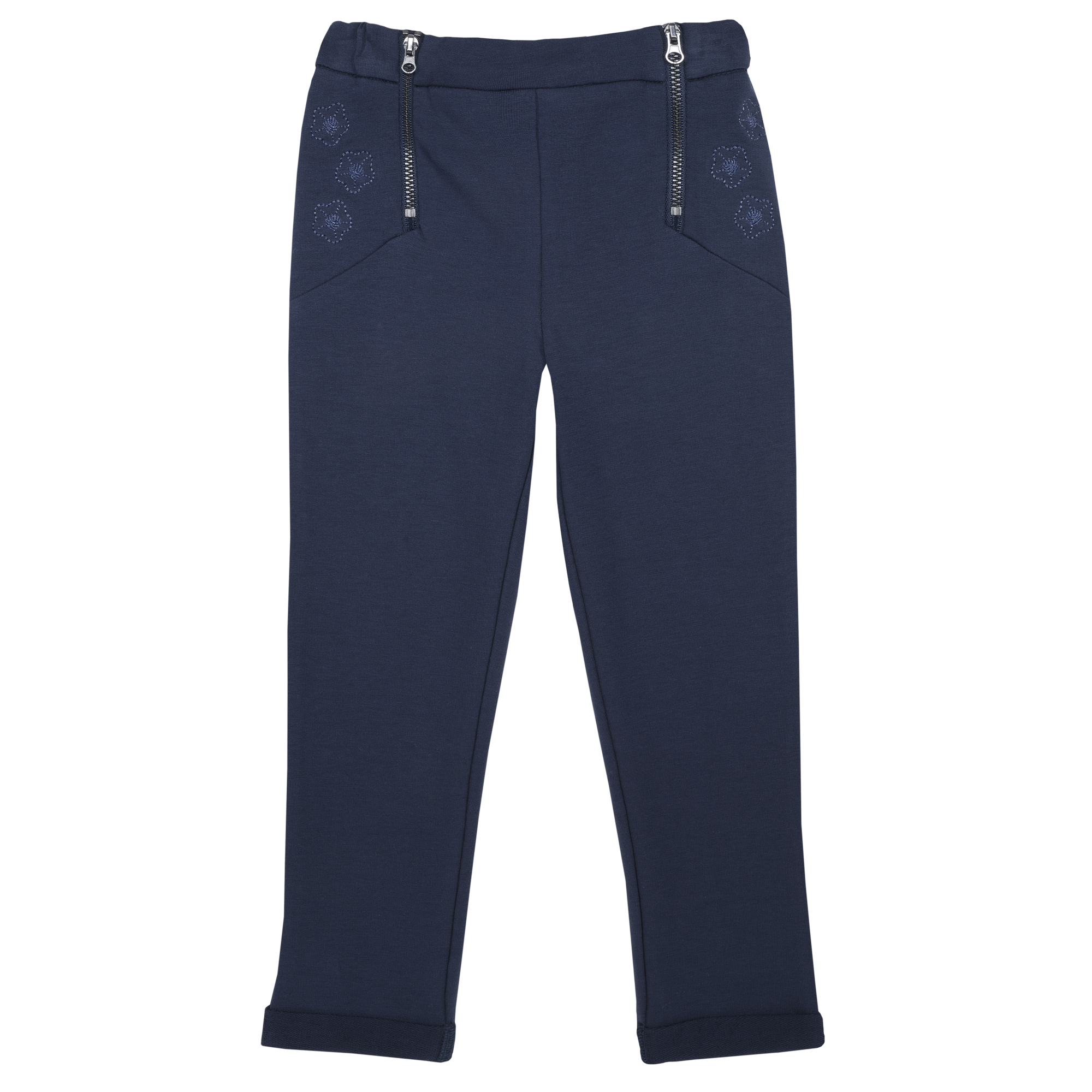 Pantalon lung copii Chicco, denim elastic, albastru, 24982 din categoria Pantaloni copii